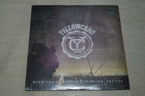 yellowcard when you're through think vinilo rock activity