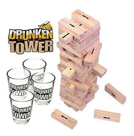 yenga drunker tower juego de mesa para fiestas eventos