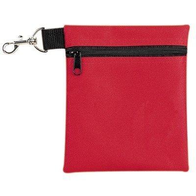 yens® fantasybag golf tee pouch-rojo, ap-617