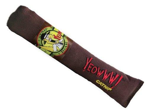 yeowww cigar catnip toy singles