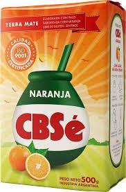 yerba mate cbsé naranja 500grs