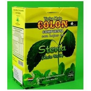 yerba mate colón - stevia