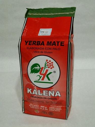 yerba mate kalena 500g the food market