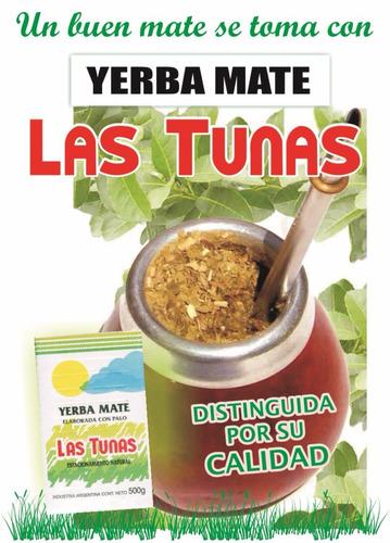 yerba mate las tunas (para despachar con mercado envío)