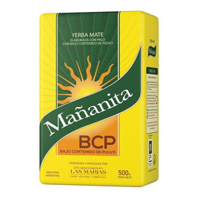 Yerba Mate Mañanita 500g Suave Sin Gluten Tacc 01mercado