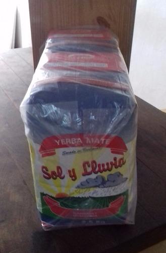 yerba sol y lluvia barbacuá x 10 kg entregas desde 14-2