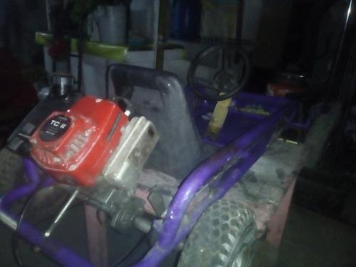 yerf-dog pasto y tierra gasolina