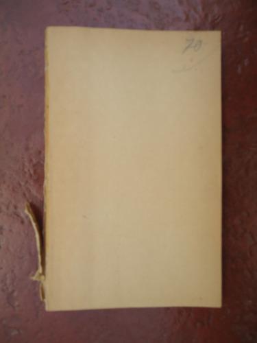 yerma - federico garcia lorca -  losada - 1963