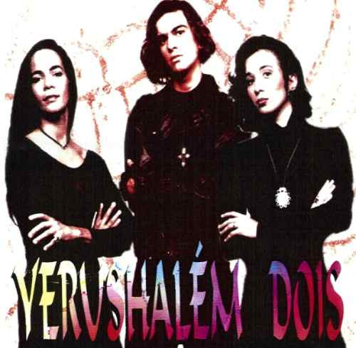 yerushalém - dois - cd - mk publicitá - raridade