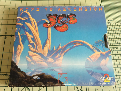 yes - keys to ascension - cd duplo importado (com pôster)