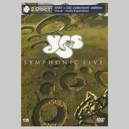 yes symphonic live dvd + cd nuevo