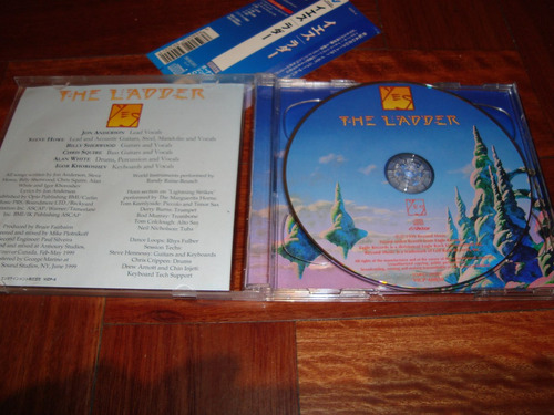 yes the ladder +  bonus 3 pulgadas (double cd)  2 cd japon