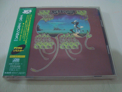yes  yessongs   remaster  2 cds japon