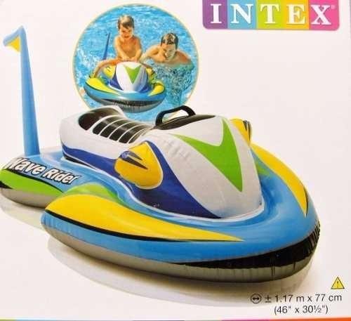 yesky moto acuática inflable jet ski intex flotador niños
