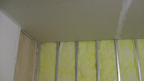 yeso, pvc, cielorraso, paredes, instalación, colocación