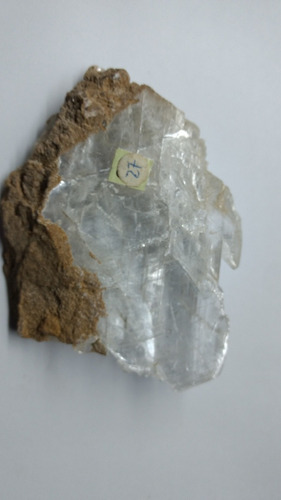 yeso selenita cristalizado