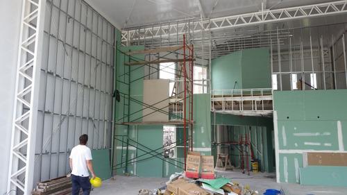 yeso steel framing cielorraso pvc pintura, albañilería