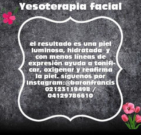 yesoterapia facial