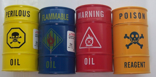 yesquero encendedor barril de petroleo soplete