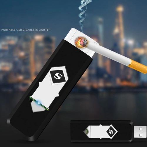 yesquero encendedor electronico de cigarros usb recargable