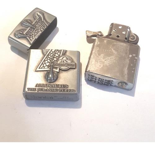 yesquero encendedor kantai tipo zippo edición jurassic myp
