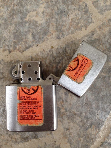 yesquero encendedor zippo auténtico original perfecto estado