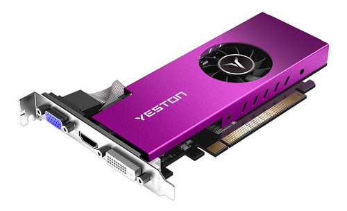 yeston rx550-4g d5 lp tarjetas gráficas radeon chill memoria