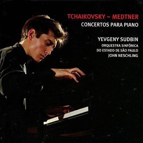 yevgeny sudbin & osesp - tchaikovsky - medtner - cd - novo