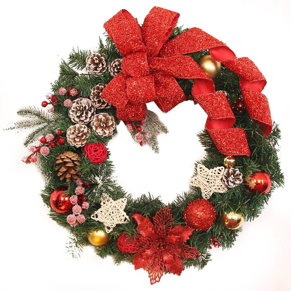 Guirnaldas De Navidad Imagenes.Yezijin Guirnalda De Navidad Guirnaldas Bolas De Navidad Ad