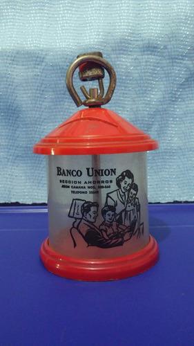yh antigua alcancia del banco union de lima cambio