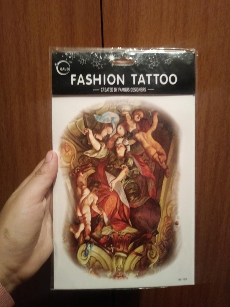 Yh Tatuaje Fashion Tattoo Pegable Removible Nuevo San Miguel S 20