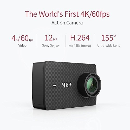 yi 4k+ action camera, sports cam with 4k/60fps resolution