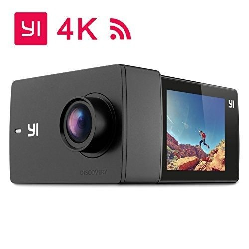 yi discovery action camera, 16mp real 4k wifi sports cam co