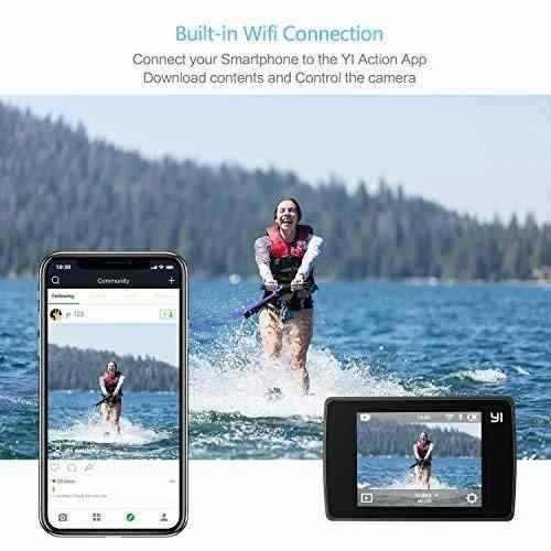 yi discovery action camera, 4k sports cam con pantalla...