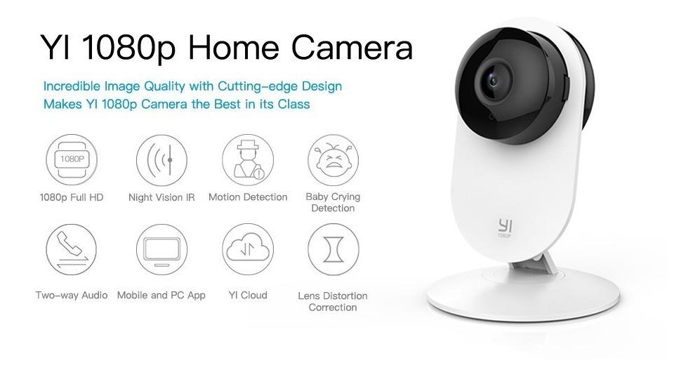 Yi Home Xiaomi 1080p Camara Vision Nocturna Wifi Internet