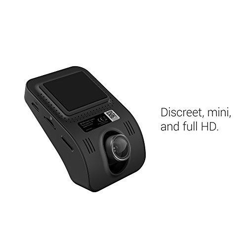 yi mini dash cam, 1080p fhd camara con lente visión nocturna