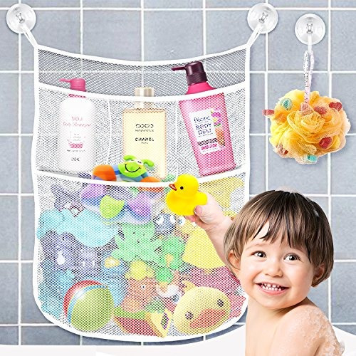 yihoon bath toy organizer shower caddy para baño baby toy st