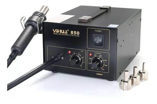 yihua 850 estação de solda e dessolda retrabalho 110 ou 220v
