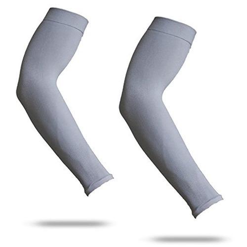 yiseven deportes compresión mangas del brazo (1 par)