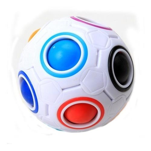 yj pelota arcoiris futbol cubo rubik juego mental