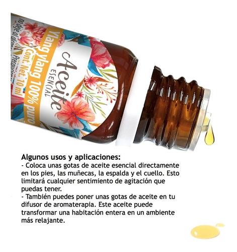ylang ylang 10 ml aceite esencial 100% puro