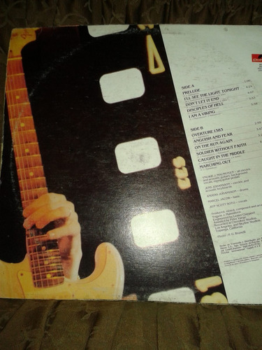 yngwie malmsteen, marching out, lp nacional