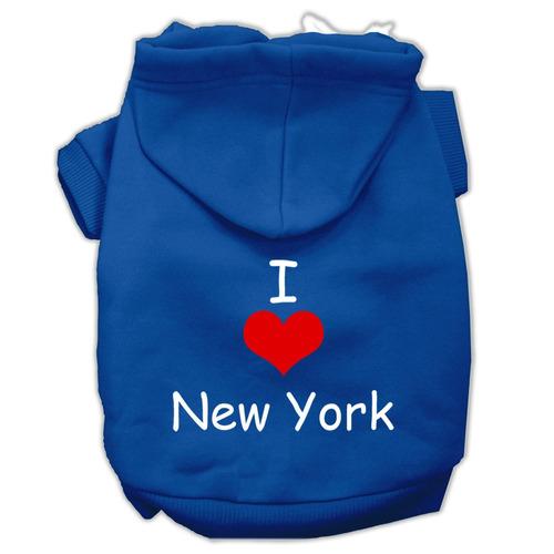 yo amar nuevo york pantalla impresión para mascotas sudader