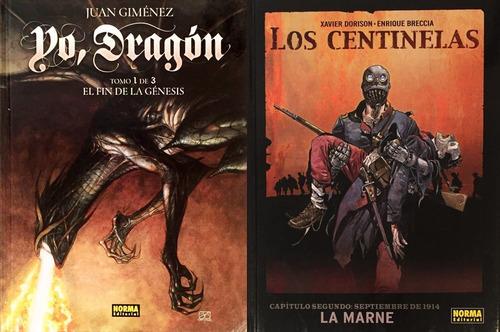 yo dragón - los centinelas - juan giménez - enrique breccia