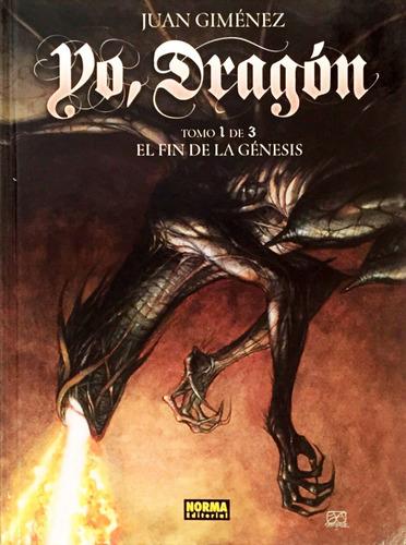 yo dragon vol 1 fin de la genesis - ed. norma - juan gimenez