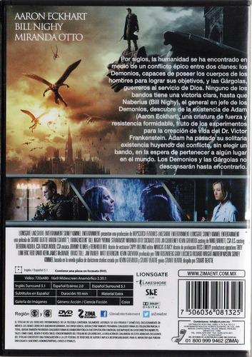 yo frankenstein aaron eckhart pelicula dvd