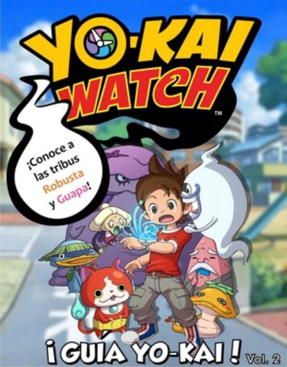 Yo Kai Watch Paquete Guias Imprimibles Personajes Del Juego ...
