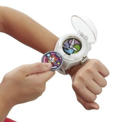 yo-kai watch reloj español con 2 medallas hasbro tv en stock