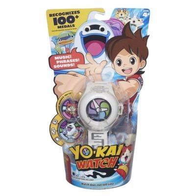 yo-kai watch reloj interactivo con 2 medallas hasbro