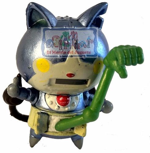 yo-kai watch set 5 personajes con 5 medallas en caja únicos